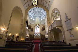 King's Chapel, Gibraltar - Image: King's Chapel Gibraltar interior