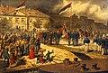 King Milan Obrenović goes to war, 1876.jpg