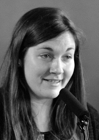 Kira Cochrane - Kira Cochrane chairing a 2014 Southbank Centre panel discussion on how austerity affects women.