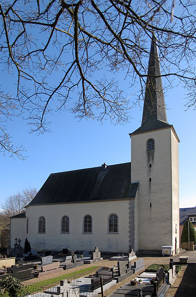 Church of Colpach-Bas, Luxembourg