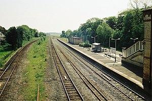 Kirkham and Wesham railway station - Image: Kirkham & Wesham railway station 240 25