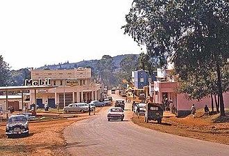 Kisii, Kenya - Kisii Town in the 60s