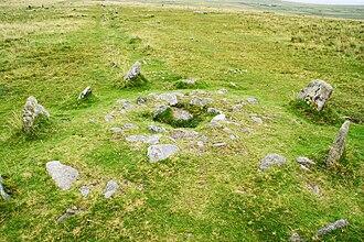 Merrivale, Devon - Kistvaen within the Merrivale stone rows