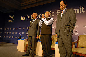 NEW DELHI/INDIA, 16NOV08 - Klaus Schwab, Execu...