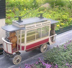 Biela Valley Trolleybus - Modellanlage im Miniaturpark Kleine Sächsische Schweiz