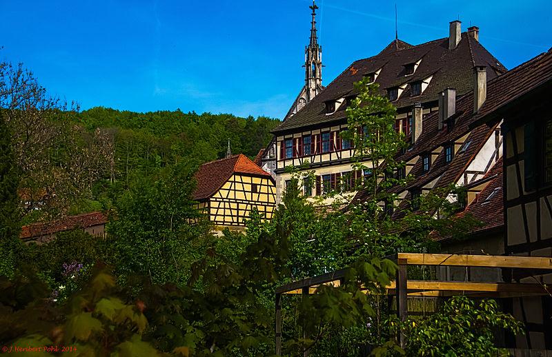 File:Kloster und Schloss Bebenhausen -- Monastery and castle Bebenhausen, Tubinga, Germany (14303959894).jpg