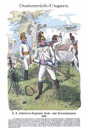 Battle of Verona (1799) - Austrian infantry skirmishing