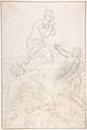 Kneeling Female Nude and Two Studies of Angels MET DP802904.jpg