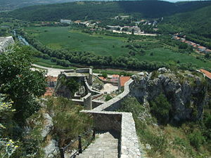 Knin Fortress - South