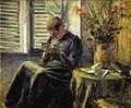 Knitting by Kuroda Seiki (Kuroda Kinenkan).jpg