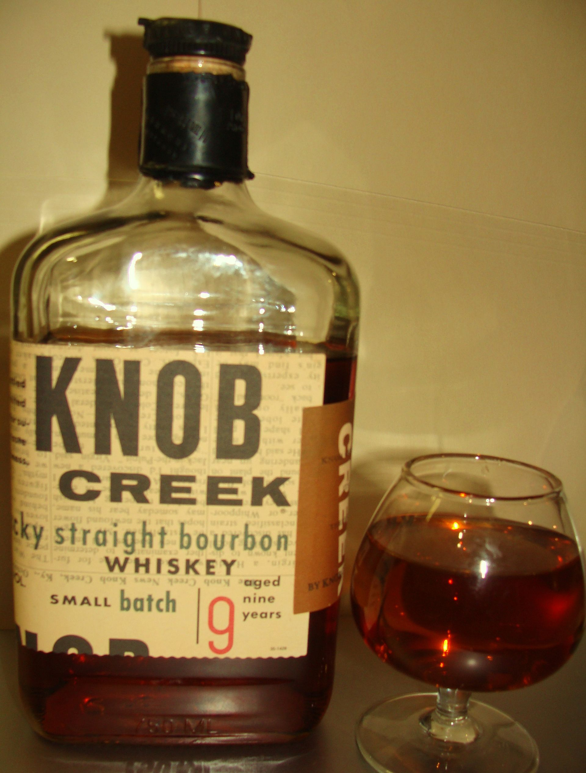 Knob Creek (bourbon) -...