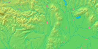 Borša - Image: Košice Region background map