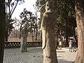 Kong Lin - main spirit way - officials - P1060061.JPG