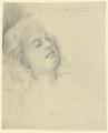 Kopf einer lagernden jungen Frau (SM 16494az).png