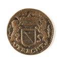 Kopparmynt, Utrecht, 1663 - Skoklosters slott - 109446.tif