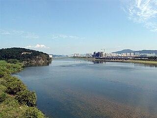 Hyeongsan River river in southeastern South Korea