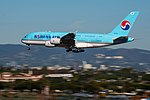 Korean Air Lines Airbus A380-861 (HL7613) at LAX (22313054454).jpg