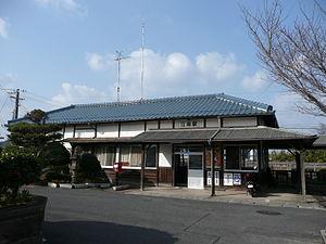 Kōnan Station (Shimane) - Kōnan Station, December 2010