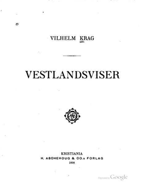 File:Krag - Vestlandsviser.djvu