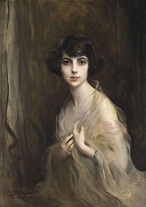 Princess Xenia Georgievna of Russia - Portrait by Philip de László, c. 1920.