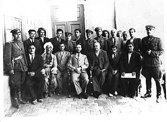 Qazi Muhammad - Kurdish Mahabad Republic was established in 1947 - The President Qazi Muhammad In The Middle