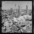 Kwajalein after its capture of Feb. 4, 1944, shows effects of Naval bombardment. - NARA - 520717.tif