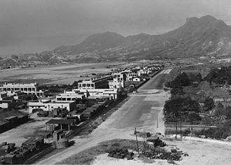 Lion Rock - Image: Kwun Tong Road 1945