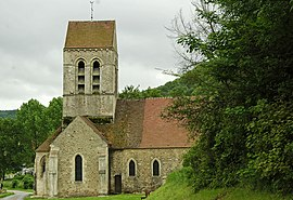 The church of Courtemont-Varennes
