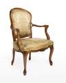 Länstol, 1700-talets mitt - Hallwylska museet - 110080.tif