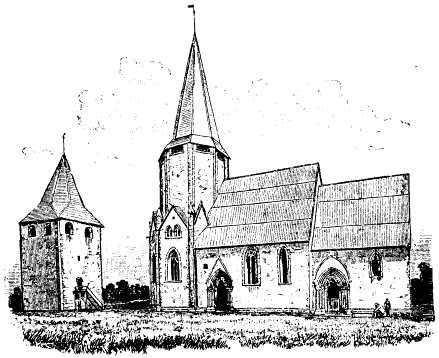 Lärbro kyrka, Sweden, från Nordisk Familjebok
