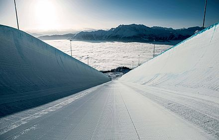 Superpipe in Laax