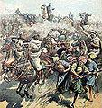 La Guerre au Maroc, Mort du Général Espagnol Margallo.JPG