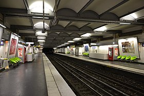 Image illustrative de l'article La Muette (métro de Paris)