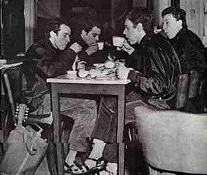 "La balsa - Los Beatniks in La Perla de Once in 1967, another meeting point for the rock underground, where ""La balsa"" was composed."