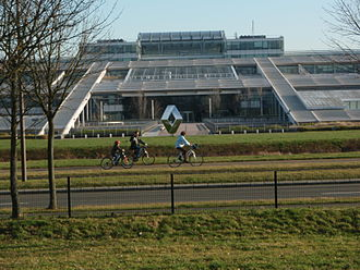 Paris-Saclay - Technocentre Renault, the largest Research and Development centre in France.