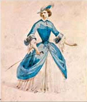 Fanny Salvini-Donatelli - Violetta's costume designed by Giuseppe Bertoja for the premiere of La traviata