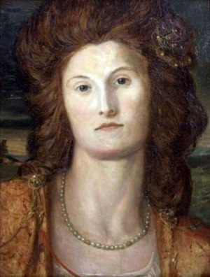 Louisa Baring, Lady Ashburton - Portrait of Lady Ashburton by George Frederic Watts