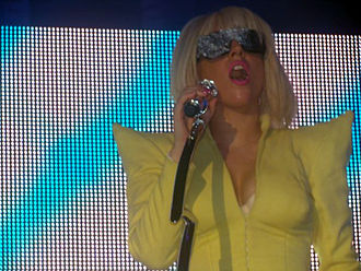 The Fame Ball Tour - Image: Lady Ga Ga performs Just Dance