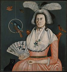 Lady with Her Pets (Molly Wales Fobes)