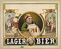 Lager bier - J.Z.(?) Wood ; Mensing & Stecher, lithographers. LCCN96507589.jpg