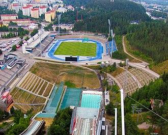 FC Lahti - Lahden Stadion – Aerial view