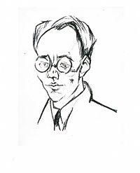Lajos Tihanyi Karl August Wittfogel 1926.jpg