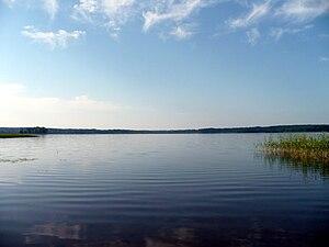 Novgorod Oblast - Lake Peretno in Okulovsky District.
