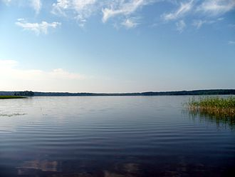 Novgorod Oblast - Lake Peretno in Okulovsky District.