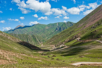 Countryside near Reting Monastery in the east of Lhunzhub County Landscape of Tibet2.jpg