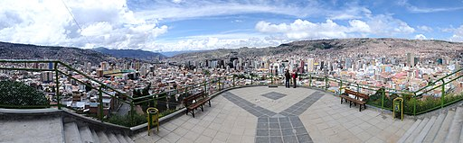 mirador killi killi things to do in Lapaz, Bolivia