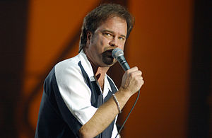 Restless Heart - Larry Stewart, seen here in 2003, has been the lead singer of Restless Heart for the majority of the band's career.
