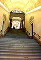 Lausanne, Palais de Rumine et Musée cantonal de géologie, escaliers direction Riponne.jpg