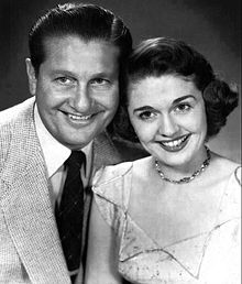 Lawrence Welk and Alice Lon