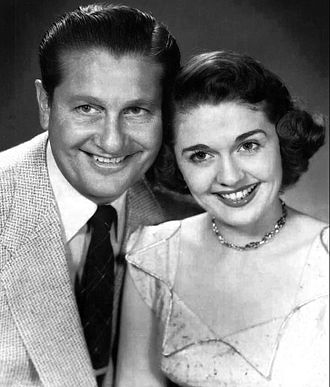 The Lawrence Welk Show - Alice Lon and Lawrence Welk.